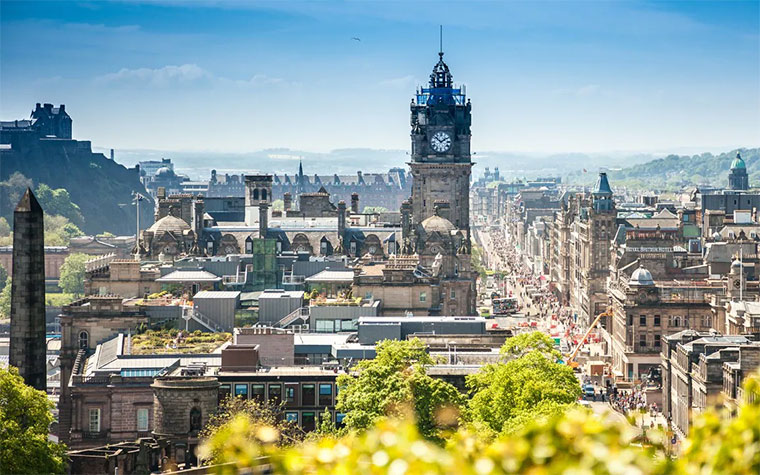 Edinburgh Becomes One Of The Most Expensive Cities In The World